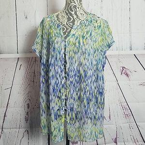 Liz Claiborne shear shirt